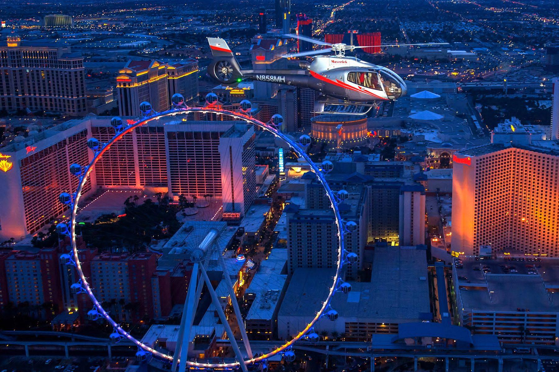 Las Vegas Night Flight - Christianson Tours